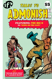 Tales To Admonish #1 cover by Matt Kyme