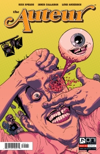 The Auteur #1 cover by James Callahan