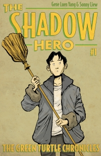 The Shadow Hero cover by Sonny Liew