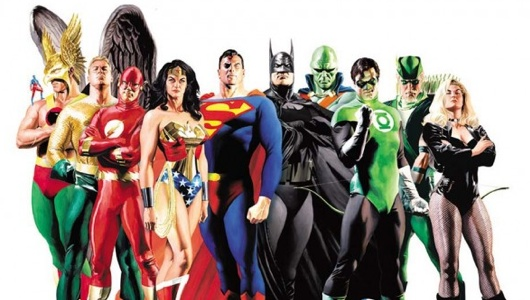 Justice League Header Image