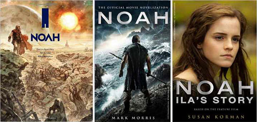 Noah graphic novel, noah novelization, noah Ila's Story