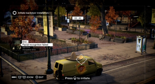 Watch Dogs Multiplayer Gameplay Demo