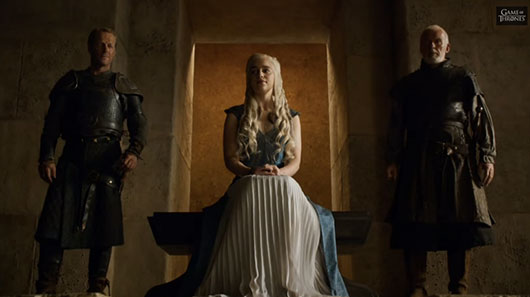 Game Of Thrones Season 4 Episode 6 The Laws of Gods and Men Dany