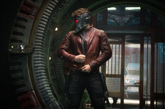 Guardians of the Galaxy's Chris Pratt as Star Lord