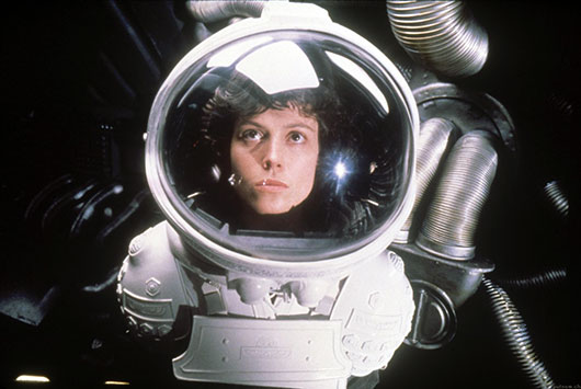 Sigourney Weaver as Ripley in ALIEN