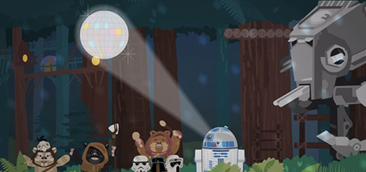 Star Wars May The 4th Day ecard from Hallmark