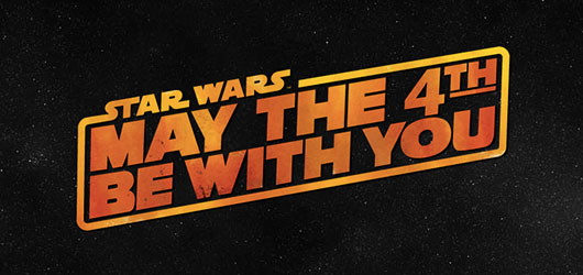 Star Wars May The 4th Be With You logo