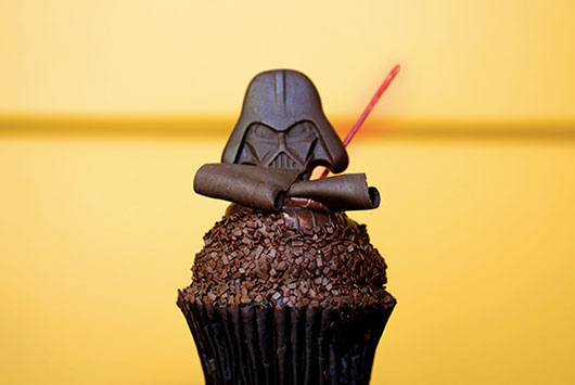 Star Wars Weekends Darth Vader Cupcakes