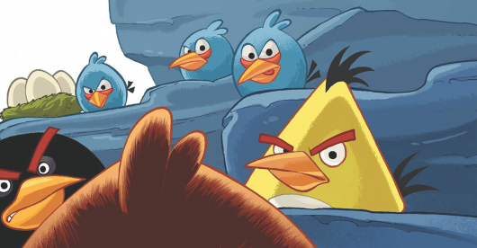 Angry Birds #1 review header image