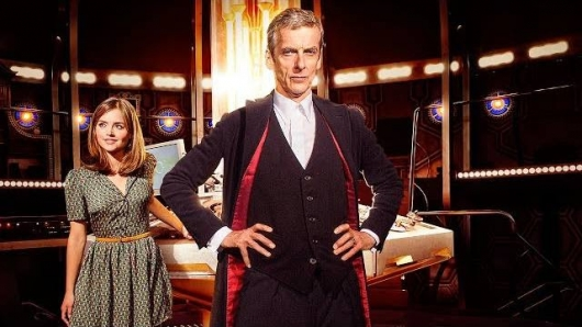 DOCTOR WHO Season 8 Peter Capaldi and Jenna Coleman