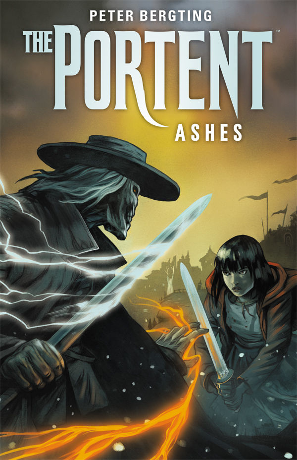 The portent ashes cover by peter bergting for Combat portent 2014 review