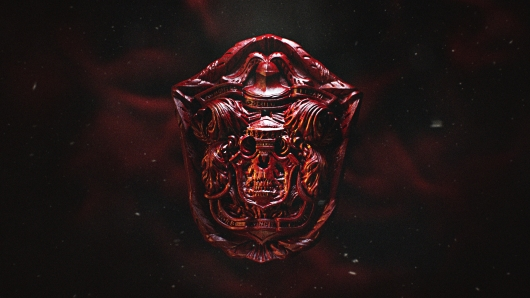 Crimson Peak Hero Skull crest