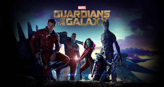 Guardians Of The Galaxy Poster Header