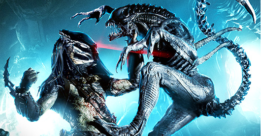 AVP: Alien vs. Predator Halloween Horror Nights 2014 banner