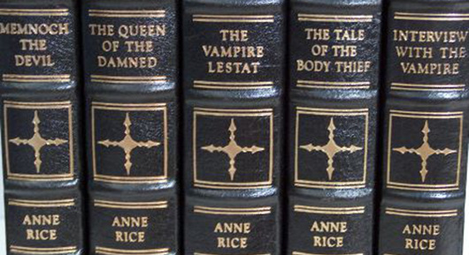 Anne Rice The Vampire Chronicles books