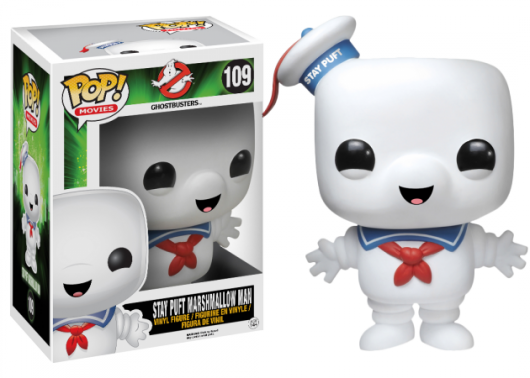 Funko Pop Ghostbusters Stay Puft Over-Sized Action Figure