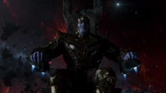 Guardians of the Galaxy villain Thanos