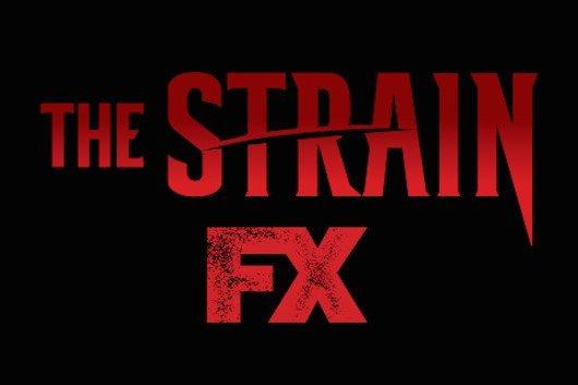 The Strain FX Logo Banner