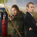 Doctor Who Season 8 Episode 3 Robot Of Sherwood Clara, Robin Hood, Doctor