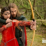 Doctor Who Season 8 Episode 3 Robot Of Sherwood Clara and Robin