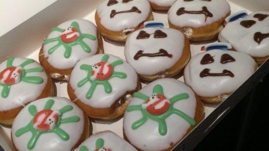 Krispy Kreme Ghostbusters Doughnuts