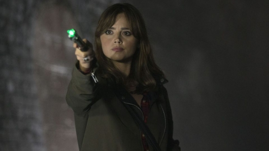Doctor Who 8.9 Flatline with Jenna Coleman -BBC
