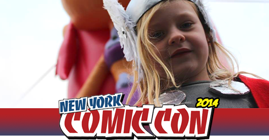 Little Thor cosplay banner