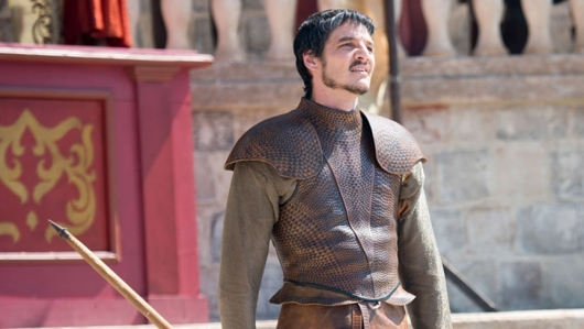 Pedro Pascal as Prince Oberyn Martell on Game of Thrones