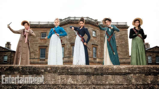 Pride and Prejudice and Zombies Bennet Sisters