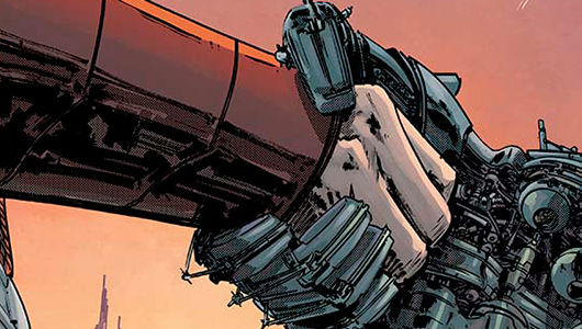 Magnus: Robot Fighter #8 review