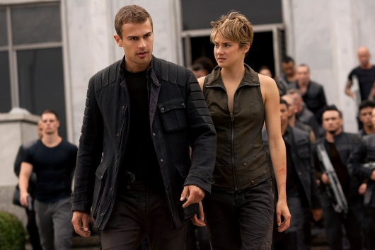 The Divergent Series Insurgent Tris and Tobias - Blu-ray Releases