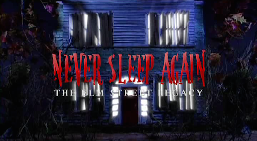 Never- Sleep Again: The Elm Street Legacy House Logo