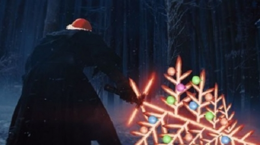Star Wars: The Force Awakens Christmas Lightsaber