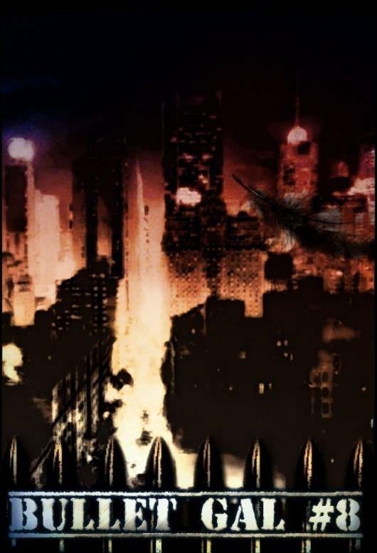 Bullet Gal #8 cover