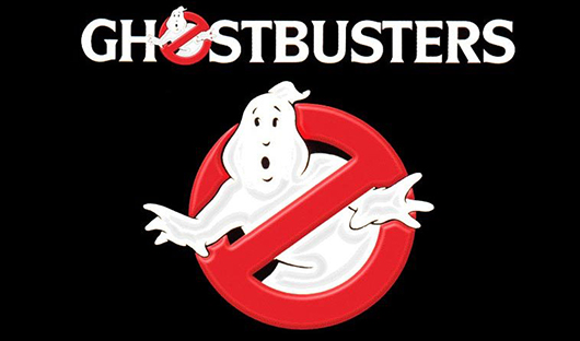 Ghostbusters Logo Title