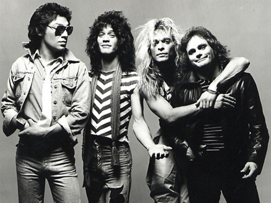 Van Halen Band Photo
