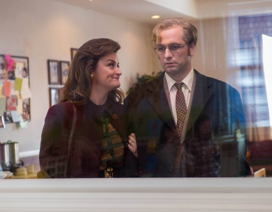 The Americans Season 3 Episode 5 Alison Wright as Martha and Matthew Rhys as Philip Jennings