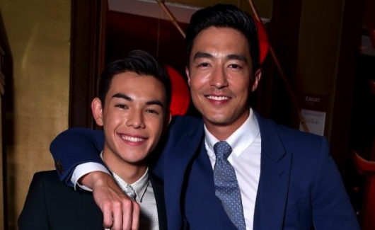 Big Hero 6 voice talent Ryan Potter and Daniel Henney