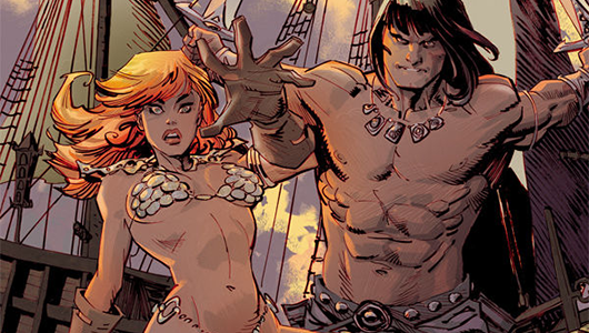 Conan Red Sonja #2 review