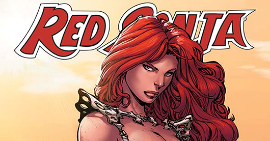 Red Sonja #100 review