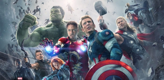 Avengers: Age of Ultron group banner