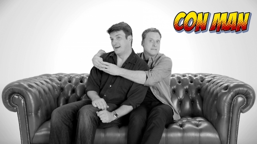 Nathan Fillion Alan Tudyk Con Man Series Cover