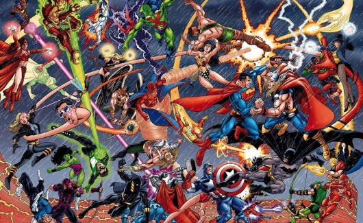 DC vs Marvel Header