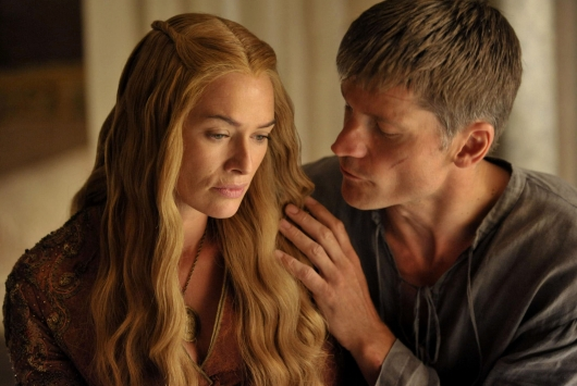 HBO GAME OF THRONES Cersei Lannister and Jaime Lannister