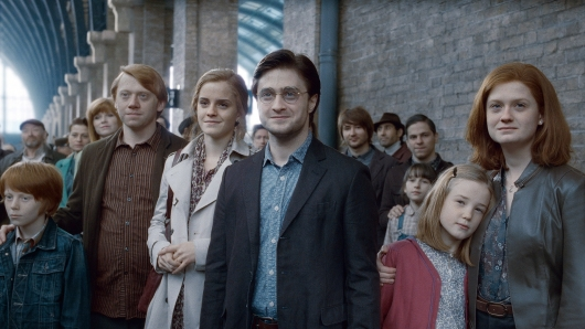Harry Potter Epilogue final shot HARRY POTTER AND THE DEATHLY HALLOWS