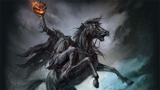 The Headless Horseman of Sleepy Hollow Osprey Publishing banner