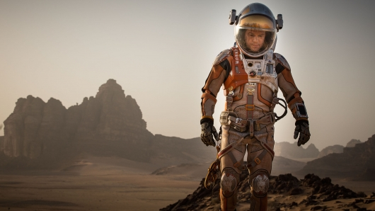 The Martian, directed by Ridley Scott and starring Matt Damon