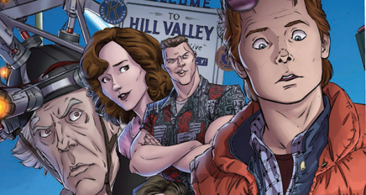 Back To The Future #1 header
