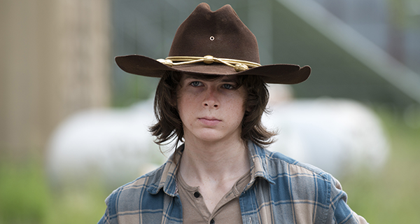 Chandler Riggs as Carl Grimes - The Walking Dead