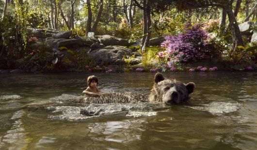 The Jungle Book Mowgli and Baloo